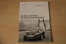 68568) VW Passat + Variant Individual - technische Daten & Ausstattungen - Prosp