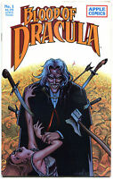 BLOOD of DRACULA #1 2 3 4 5 6 7 8 9 10 11, VF+, 11 issues, 1987, Vampire, Fangs