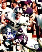 Dave Casper autographed signed inscribed 8x10 photo NFL Oakland Raiders PSA COA