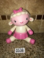 "DISNEY Doc McStuffins LAMBIE GIRL Lamb Plastic 7"" SHEEP PINK TUTU #0538"