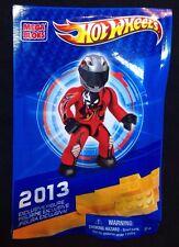 Mega Bloks Exclusive Figures 2013 Hot Wheels