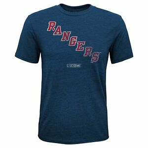 CCM NHL Youth (8-20) New York Rangers Henrik Lundqvist #30 Vintage T-Shirt