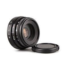FUJIAN 25mm f1.8 C mount CCTV Lens II for N1 Fujifilm FX NEX Micro 4/3 EOS M Bla