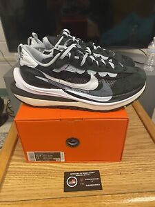 Size 11.5 - Nike VaporWaffle x Sacai Black White