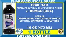 HUMCO COAL TAR TOPICAL SOLUTION PHARMACEUTICAL PRESCRIPTIONS STRENGTH 08/20 USA