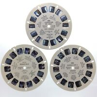 Lot Of 3 Quebec City Canada Niagara Falls 1940s Sawyers Reels View Master S438