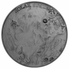 1 dólares Niue 2018 af - 1 Oz Vesta Meteorite Crater 2018 Antique Finish