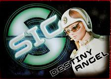Captain Scarlet - DESTINY ANGEL - SIG Embossed Chase Card SIG4