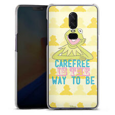 OnePlus 6 Handyhülle Case Hülle - Muppets Carefree is the way to be