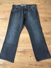 Mens Wrangler Jeans W32 L28 Black Regular