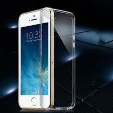 étui en silicone transparent 0,3 mm MINCE ÉTUI POUR APPLE iPhone SE 5 5S