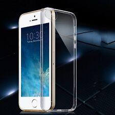Silikoncase Transparent 0,3 mm dünn Case für Apple iPhone SE 5 5S Schutzhülle