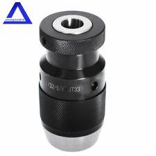 1//32/'/' 5//8/'/' 1-16MM Heavy Duty Keyless Drill Press Chuck JT33 Fast  *New