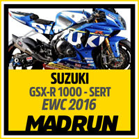 Kit Adesivi Suzuki GSX-R 1000 Team SERT 2016 EWC - High Quality Decals