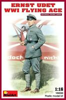Miniart 1:16 Ernst Udet WWI Flying Ace Figure Model Kit