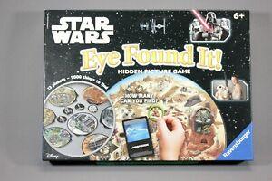 RARE! Ravensburger STAR WARS Eye Found it! - Hidden Picture Game Complete - VGC