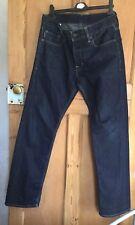 """Vintage RALPH LAUREN POLO JEANS Mens Blue  Straight Leg Jeans W32""""l32"""