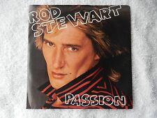"Rod Stewart ""Passion/Better Off Dead"" Picture Sleeve 45 Rpm Record"
