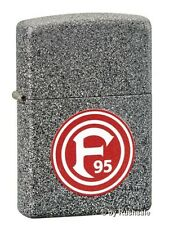 ☆ Zippo ® Feuerzeug Bundesliga F 95 Fortuna Düsseldorf Iron Stone ☆
