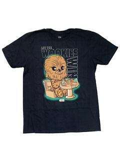 Funko Pop! Disney Star Wars Chewbacca T-Shirt with Sage Wisdom Large