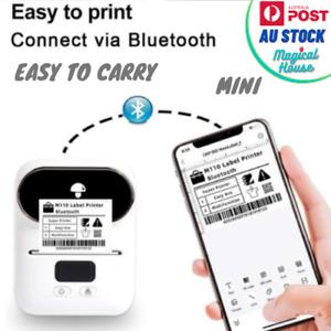 Phomemo M110 Thermal Label Printer Portable Bluetooth Label Maker Machine