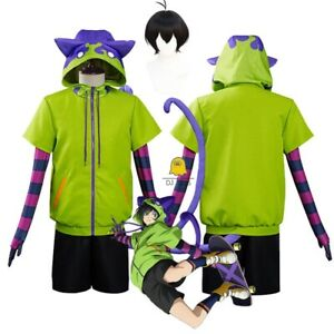 SK8 the Infinity Miya Chinen Cosplay Costume Hoodie Jacket Tail Party Outfits