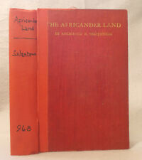 1906 THE AFRICANDER LAND Archibald Colquhoun FOLDING MAP South Africa TRANSVAAL
