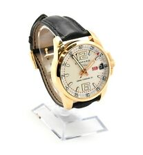 Mens 18k Rose Gold Chopard Gran Turismo Mille Miglia XL Watch 16/1266