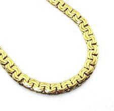 Unisex, gents/ladies, 14ct/14carat gold double 'C' link chain