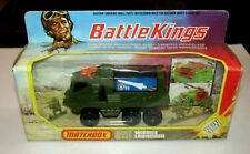 Matchbox Battle Kings K-111 Missile Launcher Army Green & Unused Missiles MIB