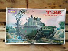 Icm T-35 WWII Soviet Heavy Tank Ref 35041 Scale 1:35 Model kit