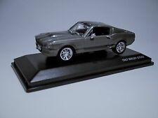 1967 Shelby GT 500 Dark Silver 1/43 Scale Brand New in the Box Yat Ming  #43202