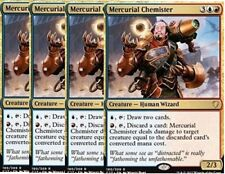 X4 Mercurial Chemister -NM- Commander 2017 - MTG Magic Gold Rare