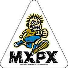 MXPX Jumper Dude Sticker NEW OFFICIAL MERCHANDISE RARE (Blink 182/NoFx) Punk