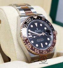 Rolex GMT-MASTER II 126711 ROOT BEER 18K Rose Gold /SS Ceramic B/PAPER *UNWORN*