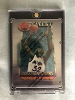 1995-96 Topps Finest Collegiate Best Shaquille SHAQ O'Neal #280 Lakers, Magic
