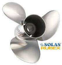 """Solas 3 Blade Prop Stainless Steel V6 - 14""""D & 19 Pitch 9531-140-19"""