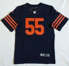Lance Briggs Chicago Bears Nike Alternate Authentic On Field Jersey Size 40