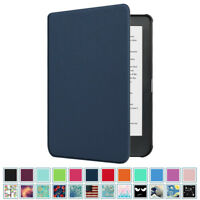 "For Kobo Clara HD 6"" eReader SlimShell Case Ultra Thin Cover Auto Sleep/Wake"