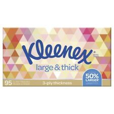 Kleenex 3 Ply Large & Thick Facial Tissues 95 pack