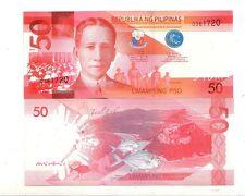 Filippine Philippines  50  piso 2010    FDS UNC     Pick 207      Lotto 4029