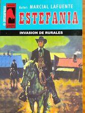 "LOTE DE 30 NOVELAS DE BOLSILLO DEL OESTE DE M.L."" ESTEFANIA "" COLECCION JINETE"