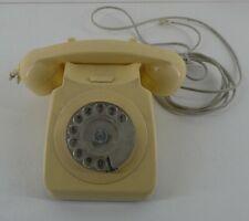 Vintage GPO746F Cream Rotary Dial Phone (E15)