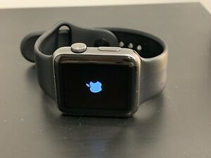 Apple Watch Series 1 - 42mm Aluminum with Black Sports Band (M/L) - USED