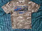 Norfolk Southern Camo T-Shirt Medium Veterans SD60E Trains 6920 Military