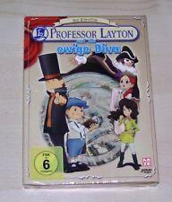 Professor Layton Und Die ewige Diva der PELÍCULA DE CINE DeLux Edición DVD DOBLE
