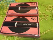 Smoke & Mirrors Metallic Lip Gloss Black Ice Lot of  2