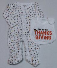 Carter's Thanksgiving Outfit for Newborn 3 or 6 Months Boy or Girl First