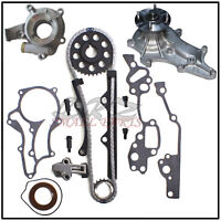 Fits 85-95 Toyota 2.4L 22R Timing Chain Kit with Guides Gaskets Water & Oil Pump