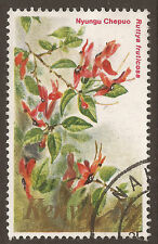 Flowers Used African Stamps